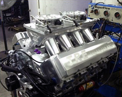 EFI combined with our TRE Custom Intakes
